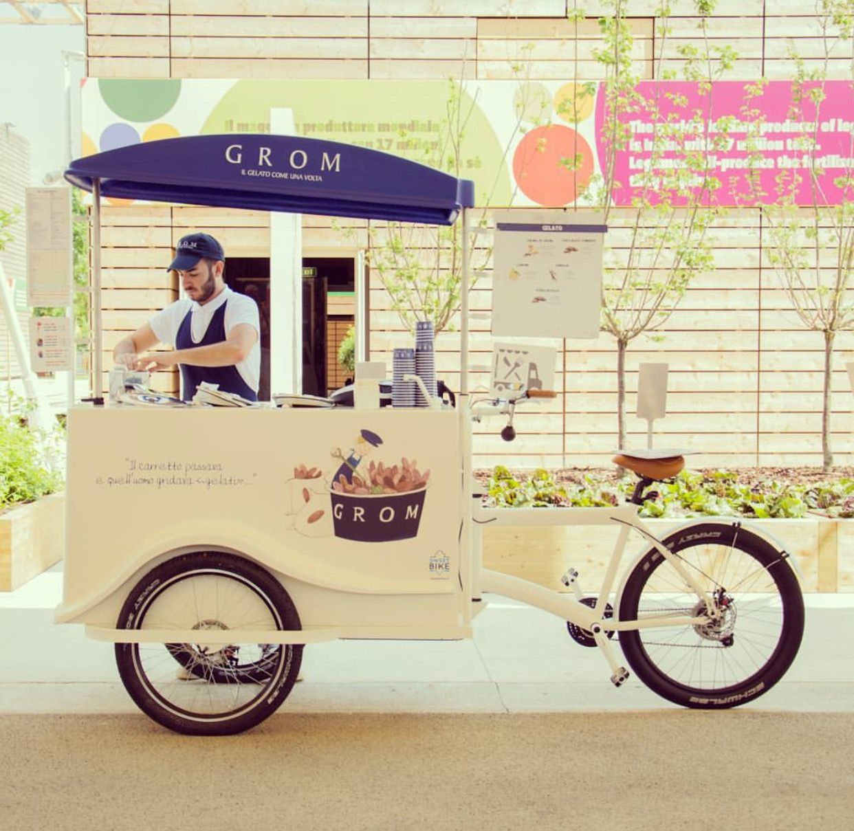 Food Hub Carts Trolley Bike Design Street Truck Business Ideas Coffee