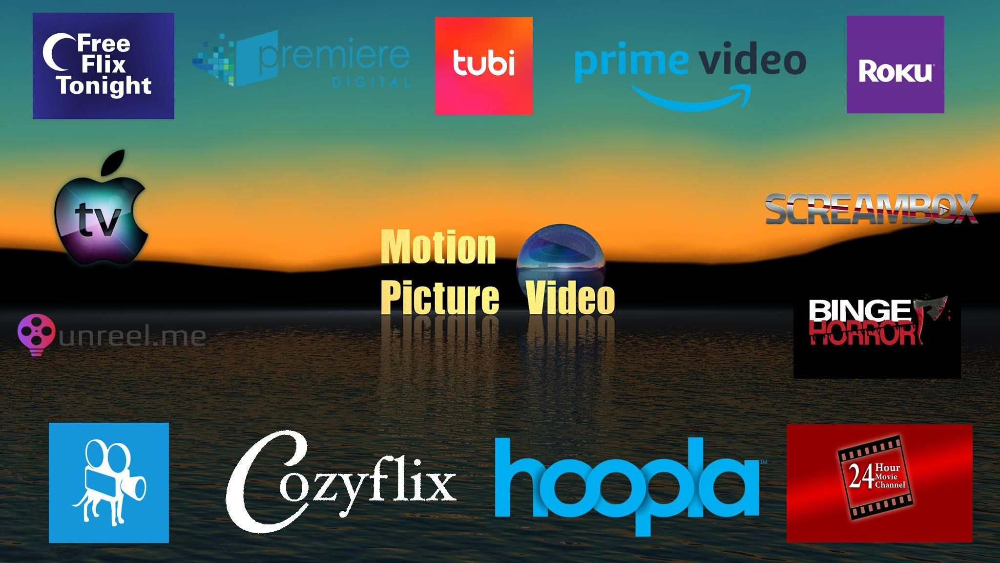 Catch our films on these great networks Amazon Prime