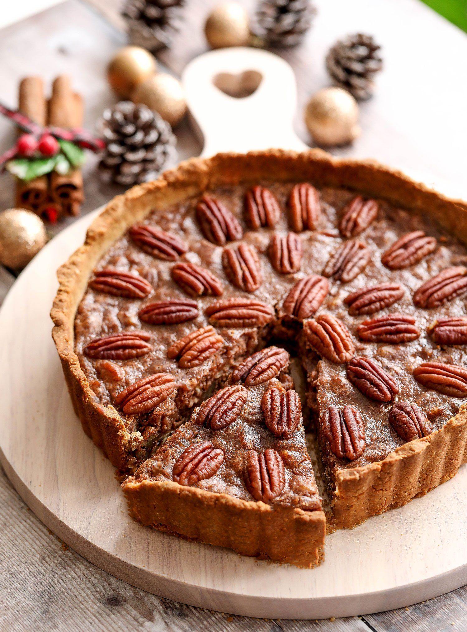 Vegan Glutenfree Spiced Pecan Pie (With images) Vegan