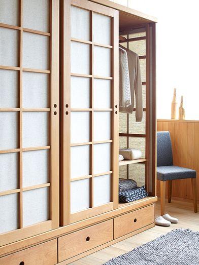 Kleiderschrank Baumkrone 3 Turig Asiatisches Haus Innenausstattung Kleiderschrank