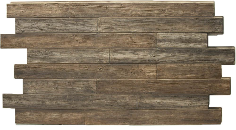 Urestone Weathered Wood Tongue And Groove Replications Unlimited Faux Stone Sheets Faux Stone Sheets Reclaimed Wood Paneling Wood