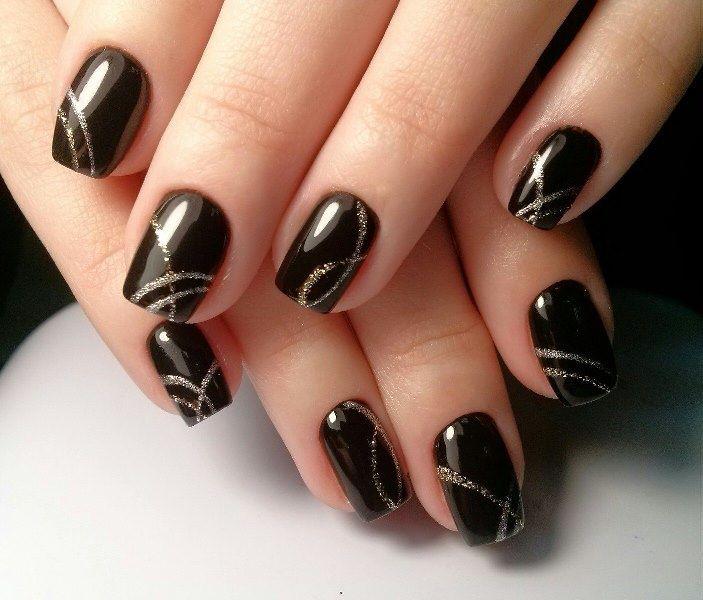 Фото акриловых лепок на ногтях