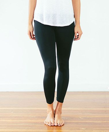 Another great find on #zulily! Midnight Leggings - Women by Ooh La Leggings #zulilyfinds