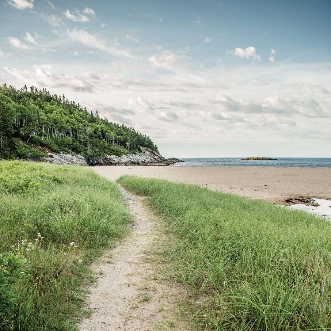 Deserted Island Beach: 2019 Acadia Down East Wall Calendar