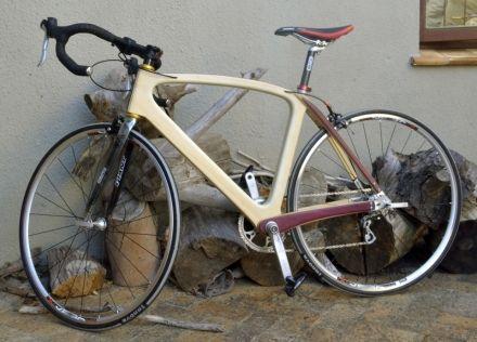 Beautiful carbon wood bicycle david stubbs bamboo and wood