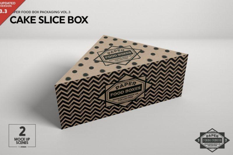 Download 11 Cake Box Mockup Psd Free And Premium Download Graphic Cloud Food Box Packaging Packaging Mockup Box Mockup