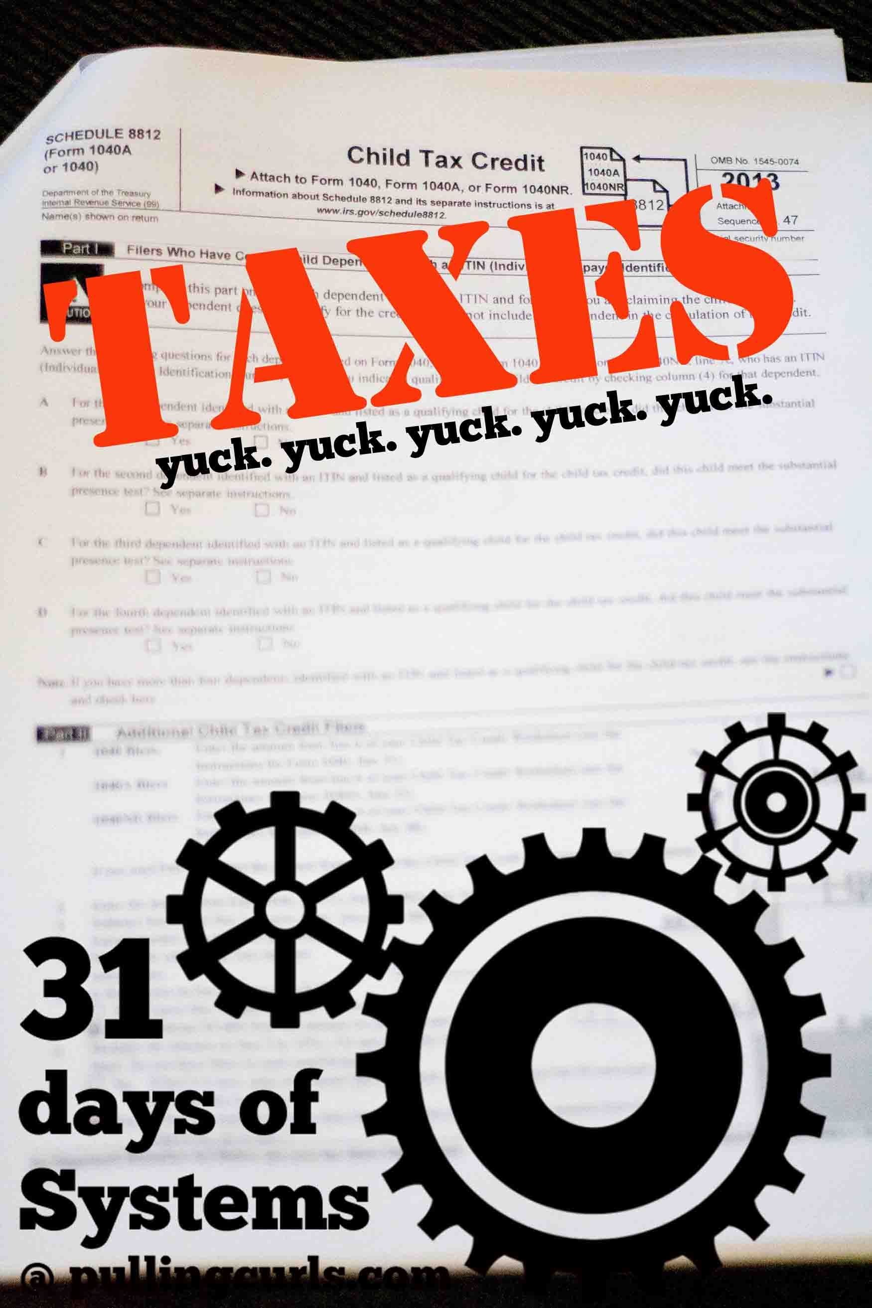 A System for Taxes | Pinterest | Organizations, Organizing and DIY ideas