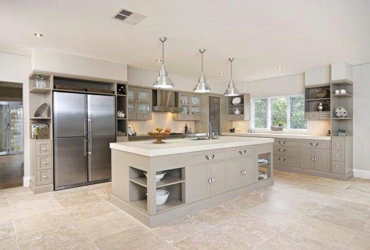 Dream kitchen k che kitchen pinterest layout for Award winning kitchen island designs