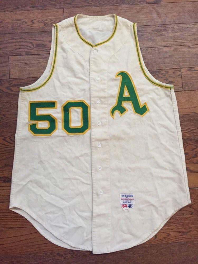 rare #vintage 1964 kansas city athletics baseball uniform vest from ...