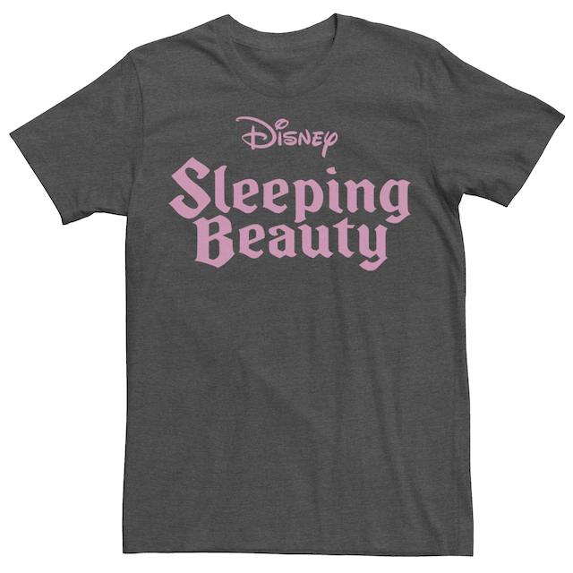 Men S Disney Sleeping Beauty Logo Tee In 2020 Disney Sleeping Beauty Sleeping Beauty Beauty Logo