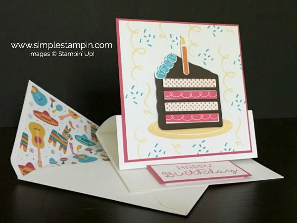 B Is For Birthdayyippee Stampin Up Pinterest Birthday