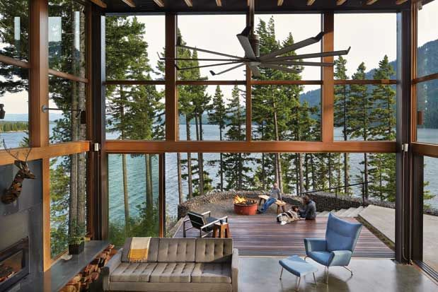 Seattle Magazine | Home and Garden/Architecture & Building | This Architectural Beauty Is Not Your Ordinary Vacation Home