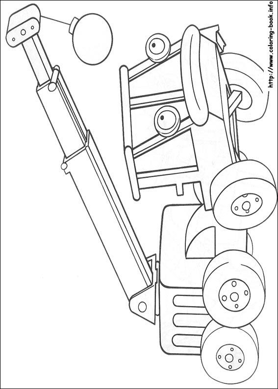 Bob the Builder coloring picture   Ideas for Stink Bug   Pinterest ...