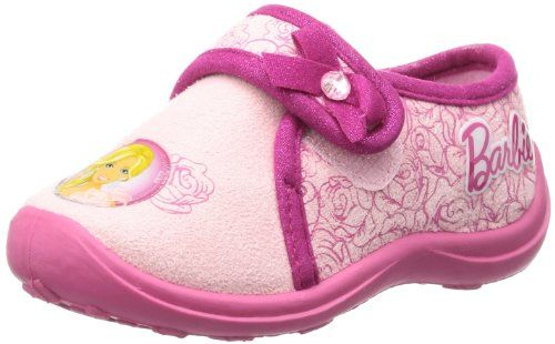 Barbie kids velcro low houseshoes BA550021 Mädchen Hausschuhe - http://on-line-kaufen.de/mattel-barbie-7/barbie-kids-velcro-low-houseshoes-ba550021