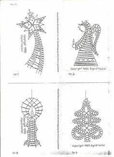 Resultado de imagen de free bobbin lace patterns for