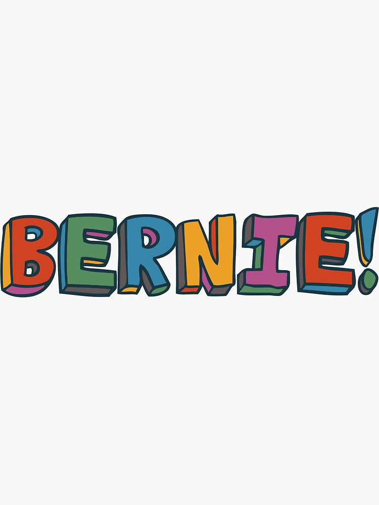 Bernie Sanders For President Sticker By Robotface In 2020 Art Collage Wall Picture Collage Wall Wall Collage