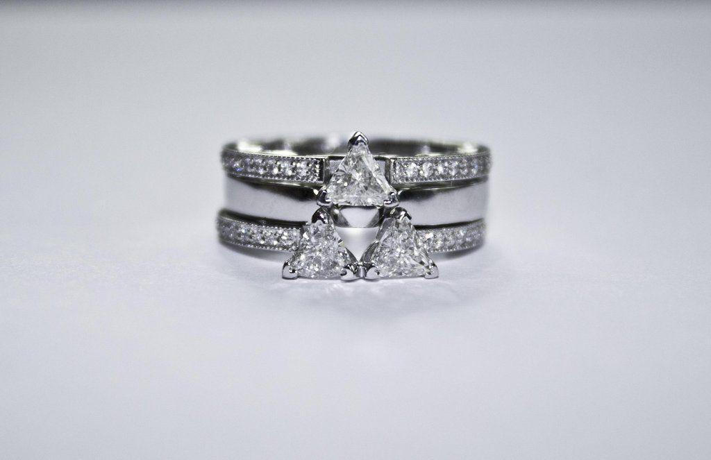It S Dangerous To Get Married Alone Take This Zelda Engagement Ring Zelda Ring Titanium Wedding Rings