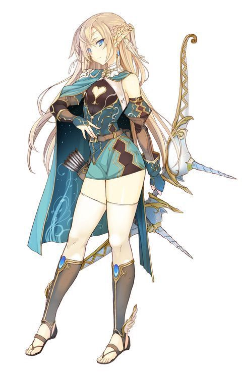 Anime Girl Fantasy Outfits : anime, fantasy, outfits, Anime, Characters