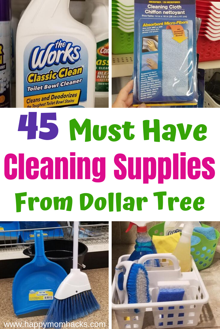 45 Best Cleaning Supplies At Dollar Tree You Need Cleaning