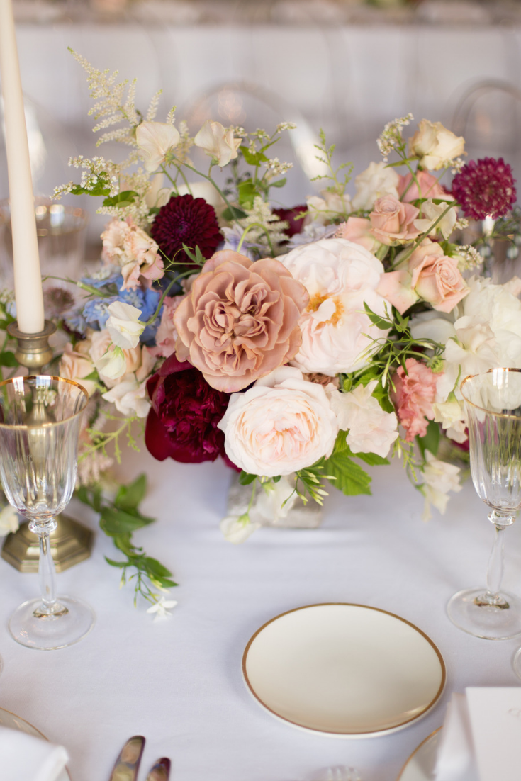 15 Idees De Centres De Table Avec Fleurs Table Decorations