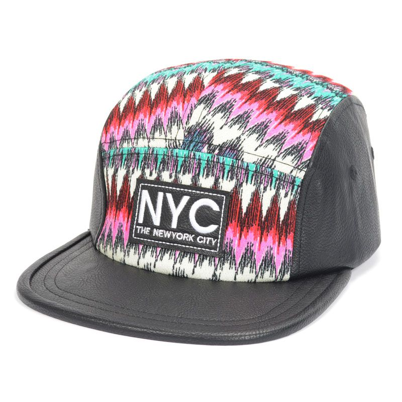 RED  New Fashion NYC Baseball Strapback Hats and Caps For Men Women HIPHOP 5 PANEL Snapback Cheap Top Quality