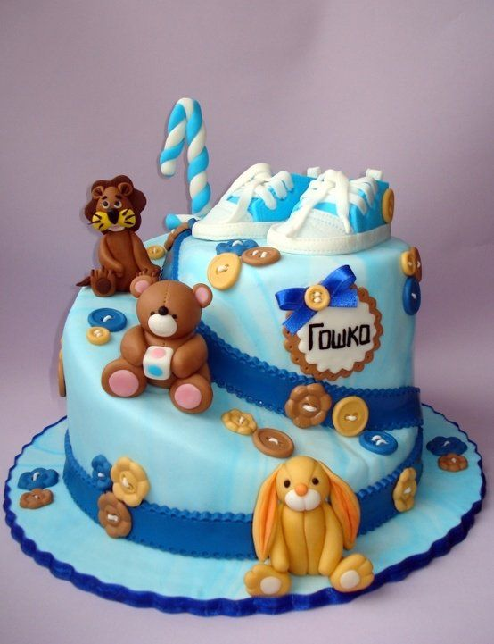 1st Birthday Cake For Boys Party Decoration Photos KID STUFF