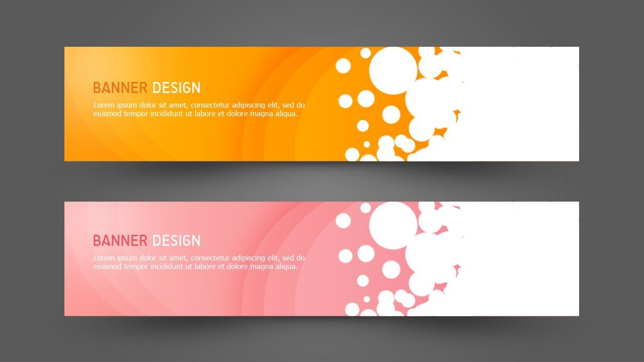 Photoshop tutorial web design simple banner after effectsc4d adobe illustrator photoshop tutorial web design reheart Image collections