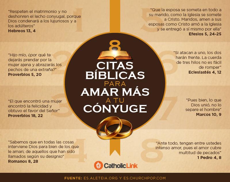 Biblioteca De Catholic Link Infografia 8 Citas Biblicas Para Amar