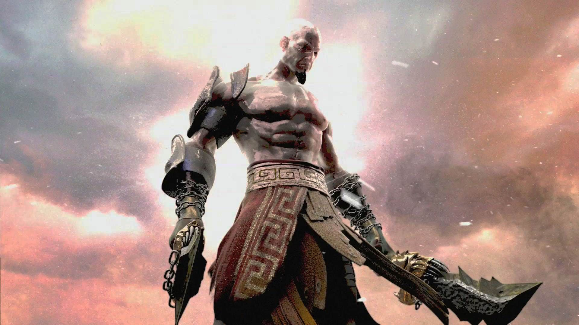 Full Hd Wallpaper God Of War Ghost Of Sparta Kratos Shield Spear 1920 1080 Kratos Hd Wallpapers Adorable Wallpapers