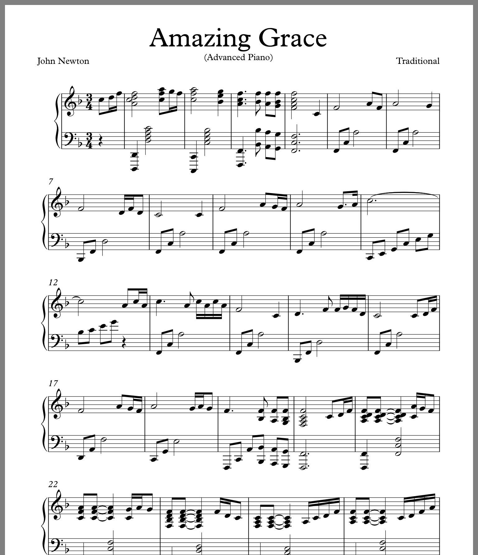 Pin By Sue Weingartner On Music Amazing Grace Sheet Music Music