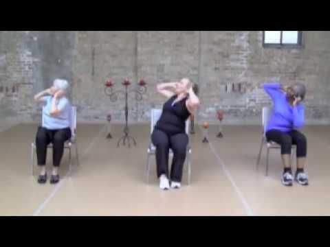 stronger seniors chair yoga hips  legs sequence  youtube