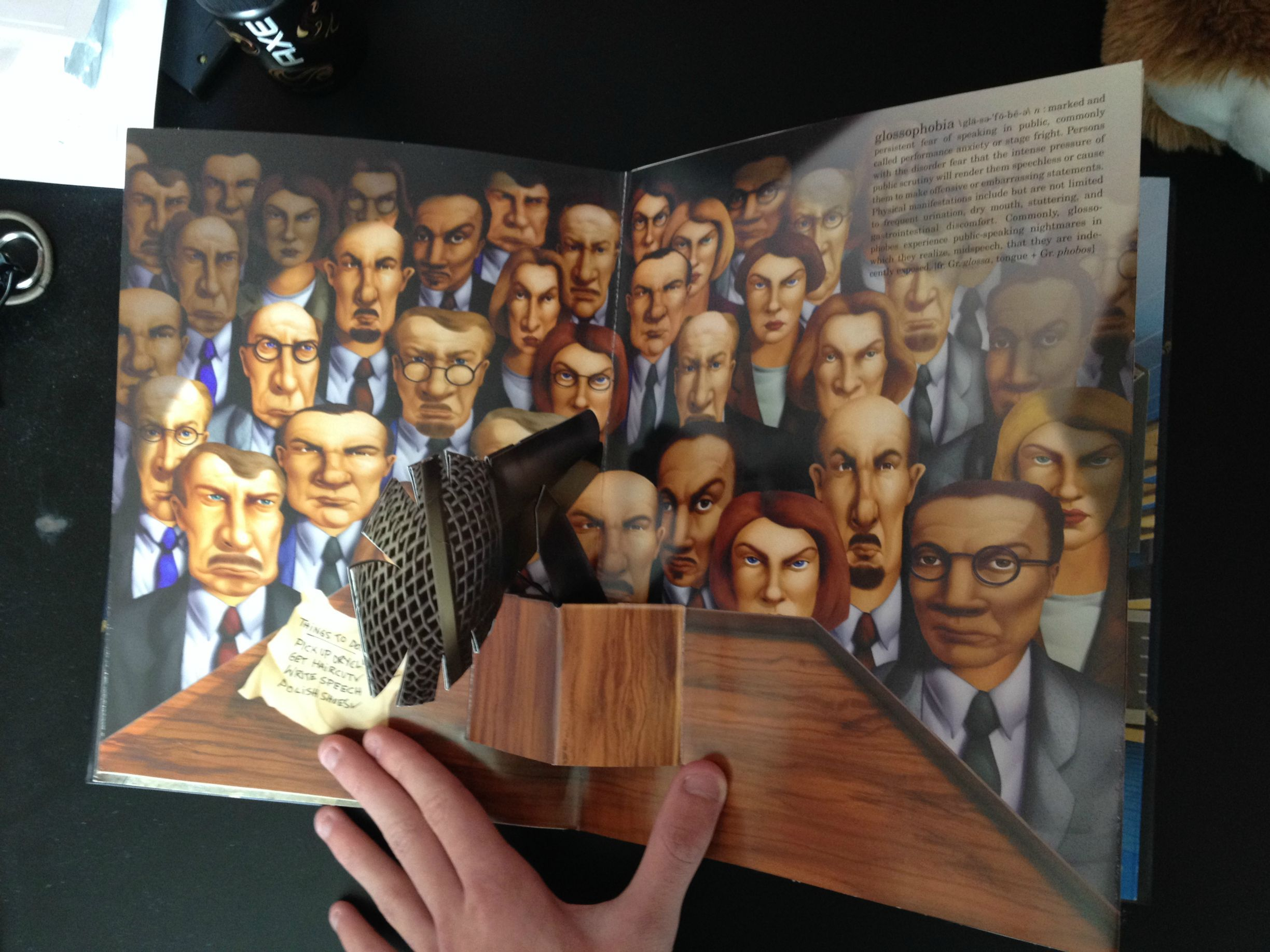 Image result for the pop up book of phobias