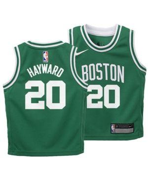 online store a3745 8e2b7 Nike Gordon Hayward Boston Celtics Icon Replica Jersey ...