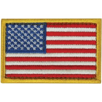 Usa Flag Patch Red White And Blue Left Face Flag Patches American Flag Patch Patches