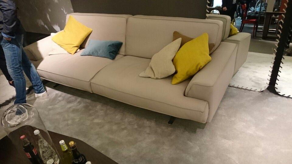 Bonaldo Slab sofa Salone del mobile 2015 Pinterest