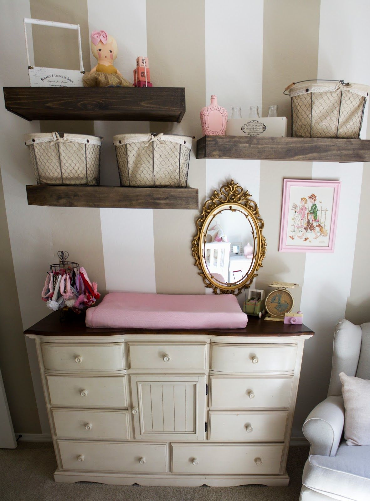 Baby Room Accessories: Life In Hearts: Anderson's Nursery!