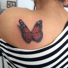 53 Charming Butterfly Tattoo-Ideen für Frauen – FASHIONFEZT - Famous Last Words