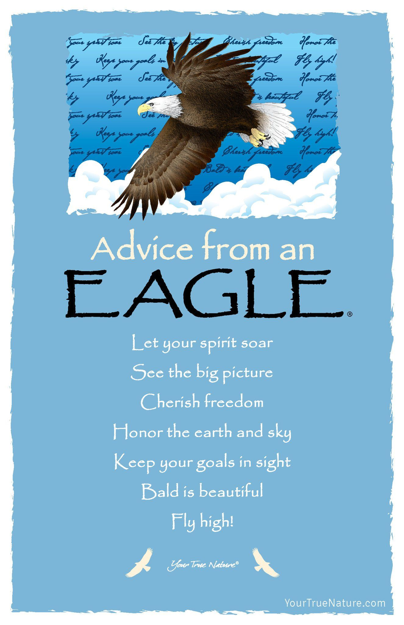 Advice From A Rock Frameable Art Card Your True Nature Inc