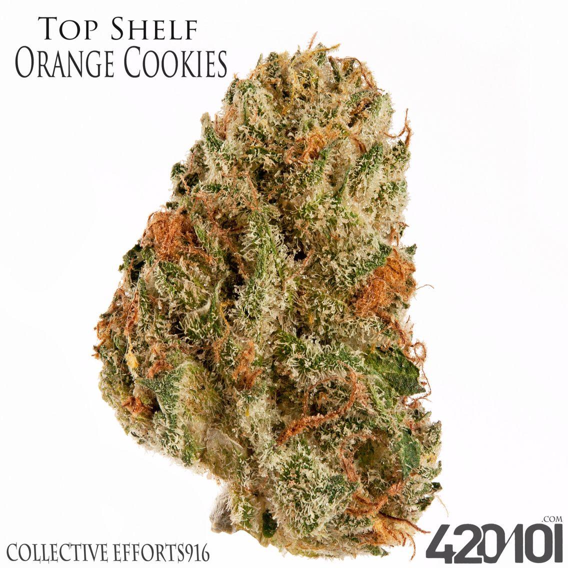 Top Shelf Orange Cookies From Collective Efforts In Sacramento