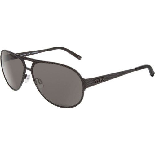 Tumi Kawazu KAWABLA59 Polarized Aviator Sunglasses,Black,59 mm TUMI. $275.00