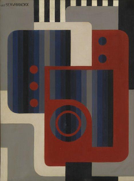Victor Servranckx Opus 43 - L'amour de la machine (1923)