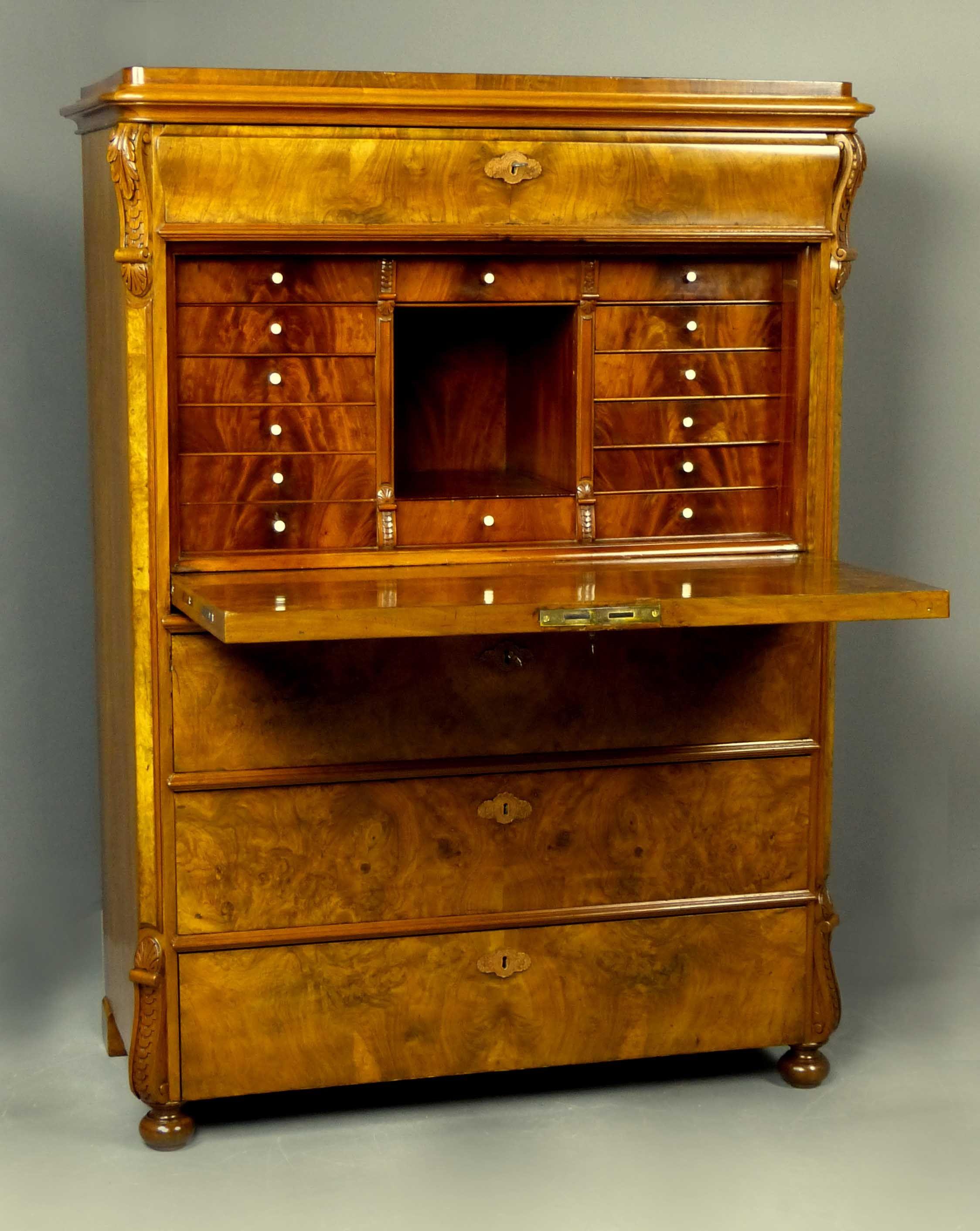 secretaire a abattant recherche google secretary antiqe pinterest muebles antiguos y madera. Black Bedroom Furniture Sets. Home Design Ideas