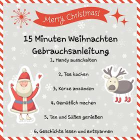 Geschenkidee 15 Minuten Weihnachten Vany S Kleine Backstube 0