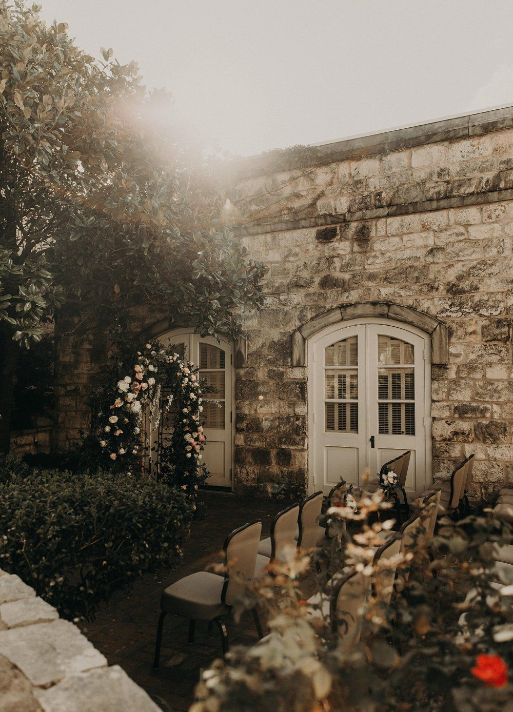 A Fairytale Wedding at the Chateau Bellevue in Texas A