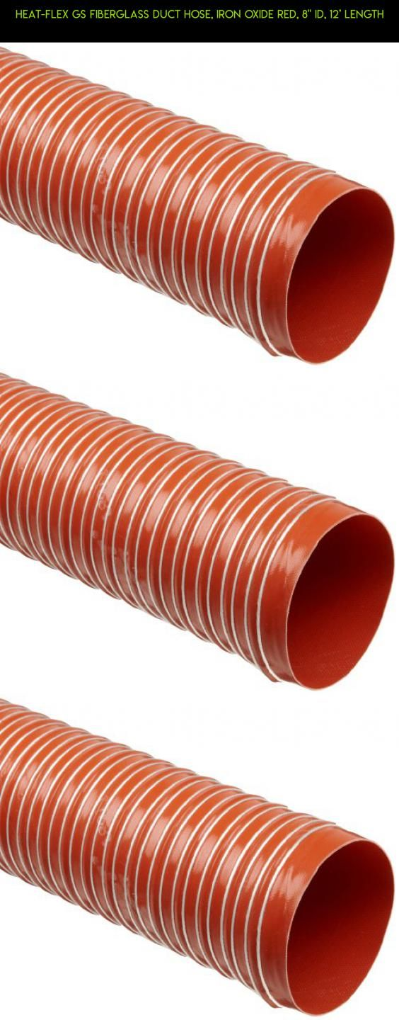 """Heat-Flex GS Fiberglass Duct Hose, Iron Oxide Red, 8"""" ID, 12' Length #shopping #products #plans #parts #duct #drone #technology #8 #camera #tech #racing #kit #fpv #gadgets #heating"""