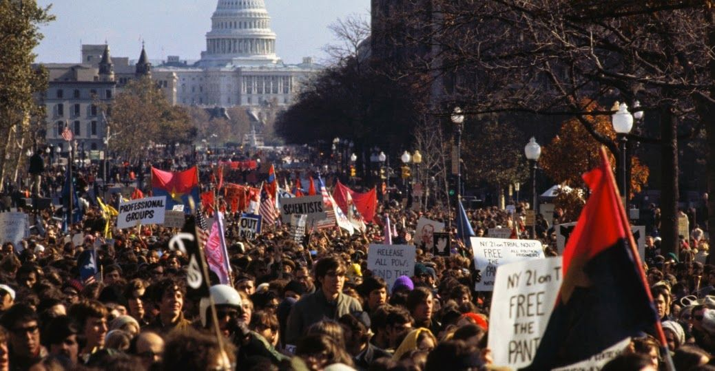 30 Color Photographs Of Anti Vietnam War Protests In The U S From