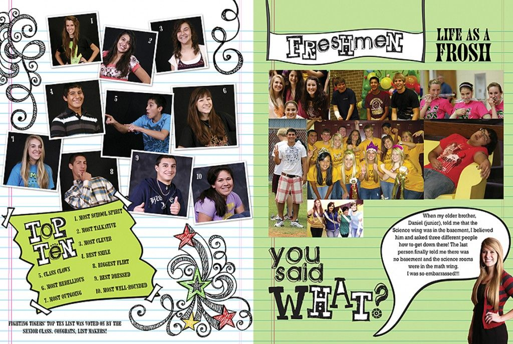 yearbook spreads if your pages that need filling are at the end of a certain - Yearbook Design Ideas