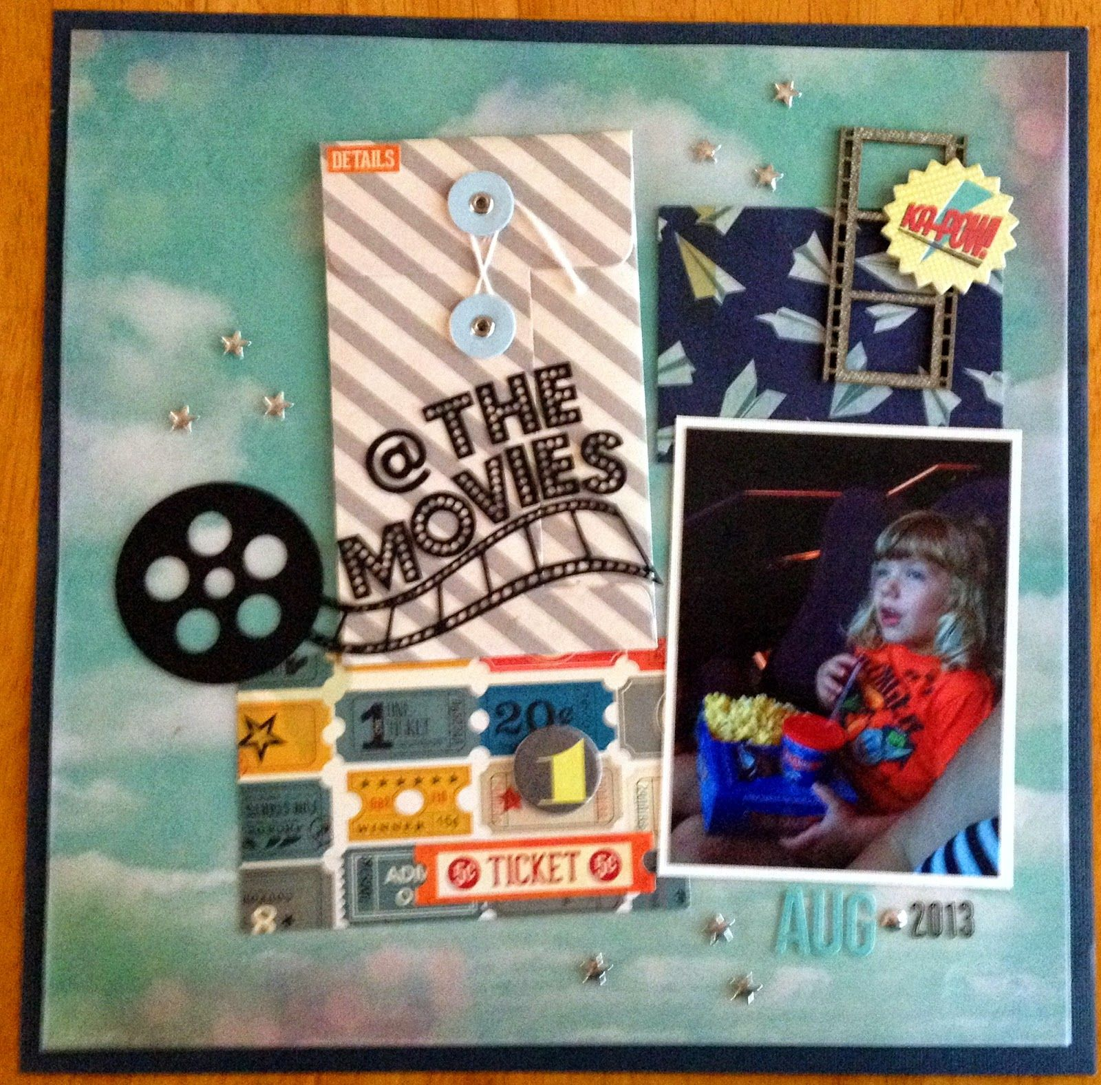 Creations By Laura: Ella @ The Movies By Laura Nesvacil