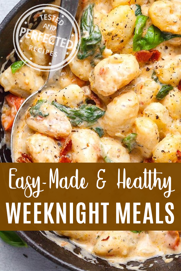 14 Quick and Easy (But Still Healthy) Weeknight Meals for Busy Moms images