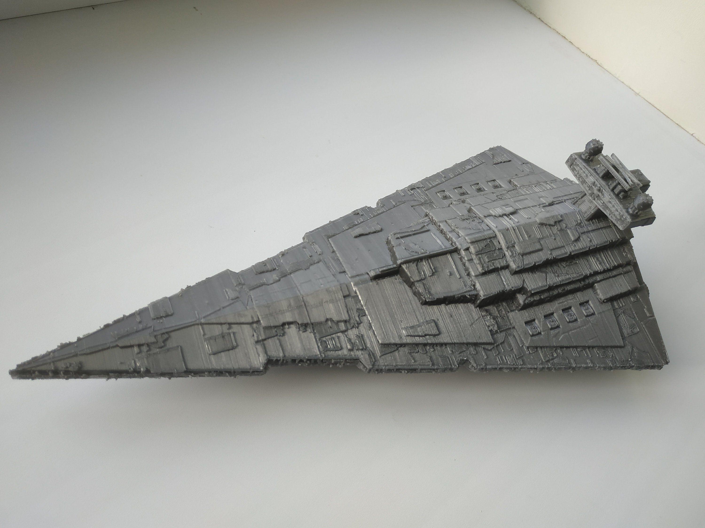 Imperial destroyer | 3d printing | Star destroyer, Star wars, Empire